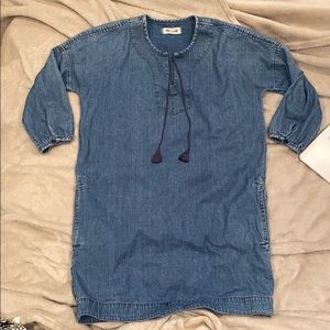 MADEWELL JEAN DRESS